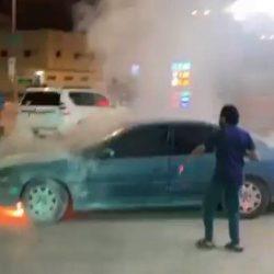 فيديو.. منقذ محطة الوقود من الانفجار جنوب الرياض يروي تفاصيل الحـادثة
