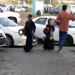 شاهد.. شاب سعودي يبتكر أسلوباً جديداً بالرسم على البخار