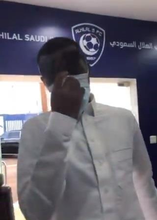 شاهد.. الإجراءات الاحترازية المطبقة في مقر نادي الهلال
