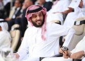 """شاهد.. كيف رد تركي آل الشيخ على مذيع سوداني لقبه بـ""""سمو الشيخ"""" خلال مداخلة هاتفية"""