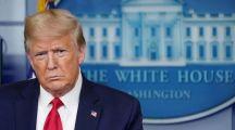 """شاهد.. """"ترامب"""" يغادر مؤتمراً صحفياً بشكل مفاجئ بعد إطلاق نار بمحيط البيت الأبيض"""