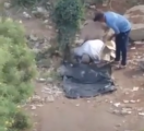 مشهد مؤثر.. العثور على مسن مصري توفى ساجداً على جانب الطريق