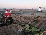 شاهد.. أول لقطات لحطام الطائرة التي سقطت في إيران.. والرئيس الأوكراني يعلن مَقتل جميع الركاب